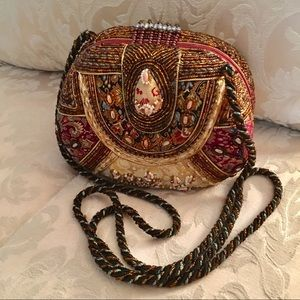 Mary Frances Vintage Beaded Evening Bag